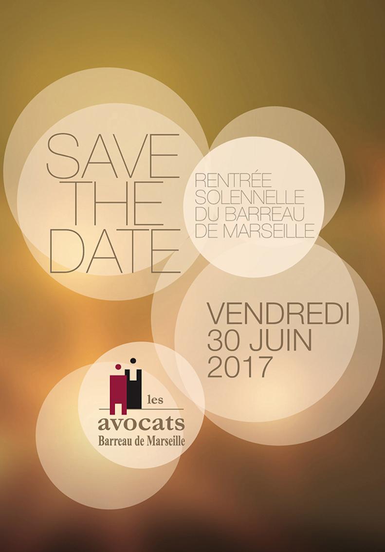 RENTRÉE SOLENNELLE DU BARREAU DE MARSEILLE 2017