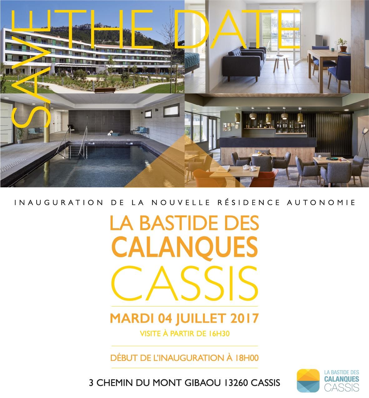 INAUGURATION DE LA BASTIDE DES CALANQUES - CASSIS